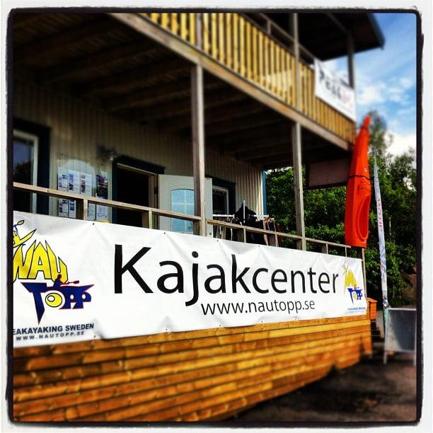 Nautopp kajakcenter i Lysekil