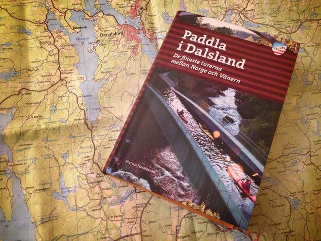 Paddla i Dalsland, karta och bok