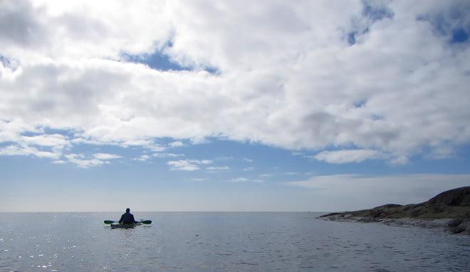 Tumlarspaning precis söder om Valö