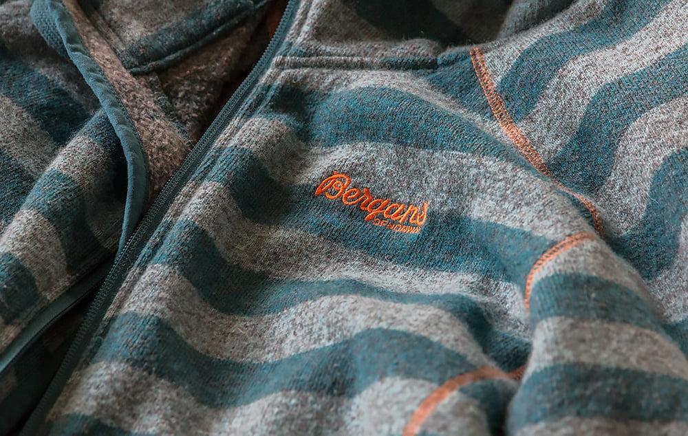 Bergans logo orange