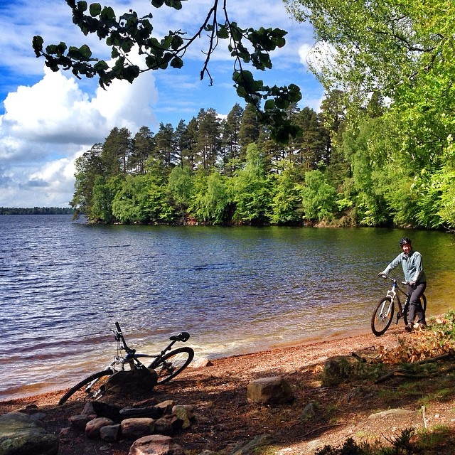 Fin cykelstrand