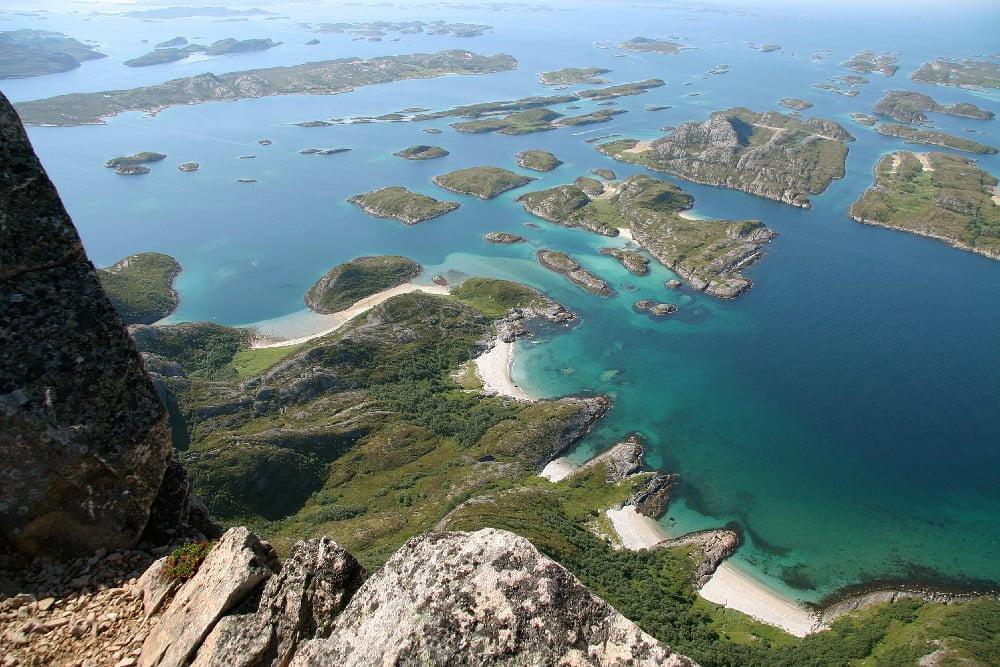 Rødøyas finfina sandstränder