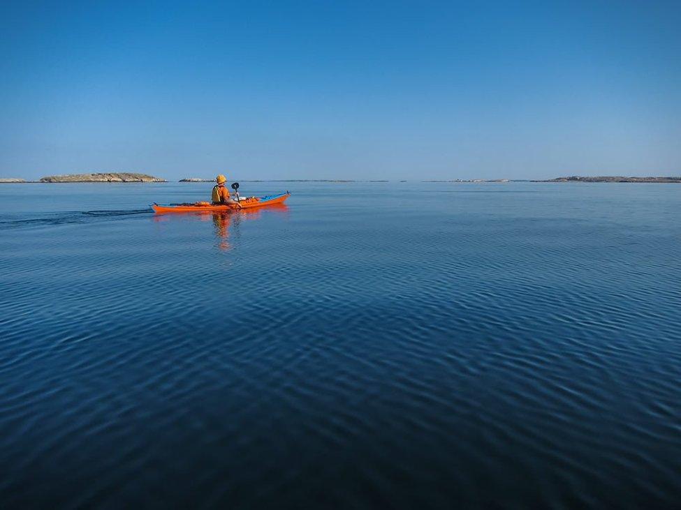 På väg mot Havstenssund