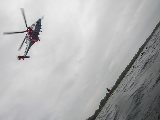 Helikopterhäng