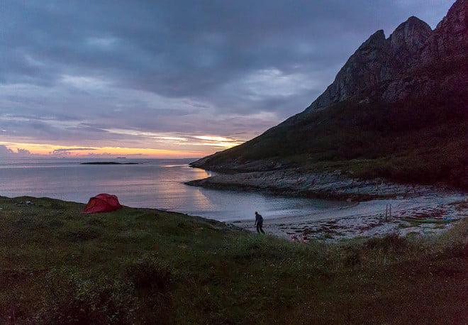 Kväll på Rødøy