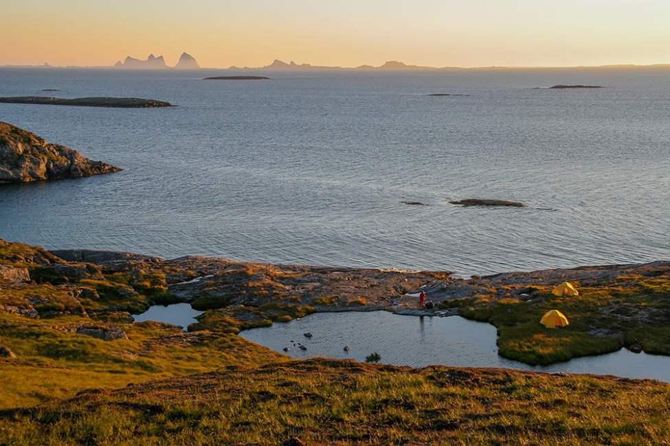 St Heløy på Helgelandskusten