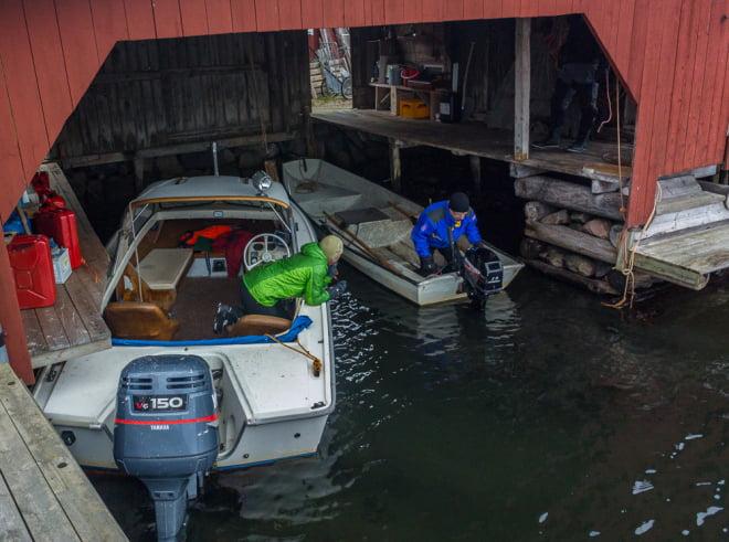 Båtmotorpysselfunderingar