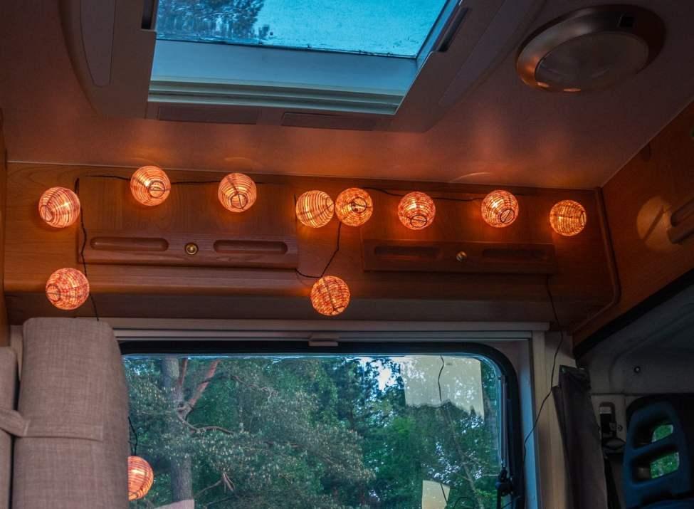 Belysningsbollar från Ikea