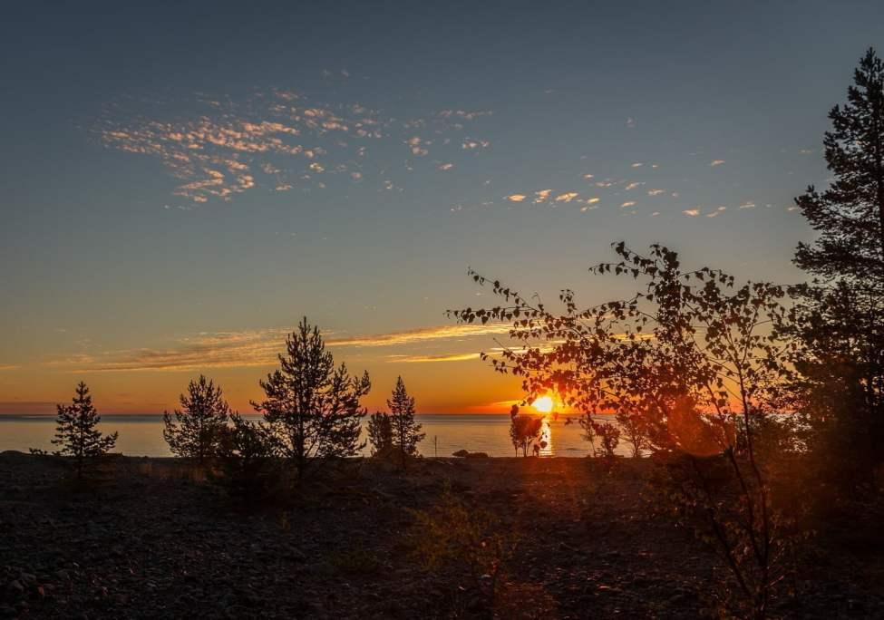 Soluppgång vid Bjuröklubb