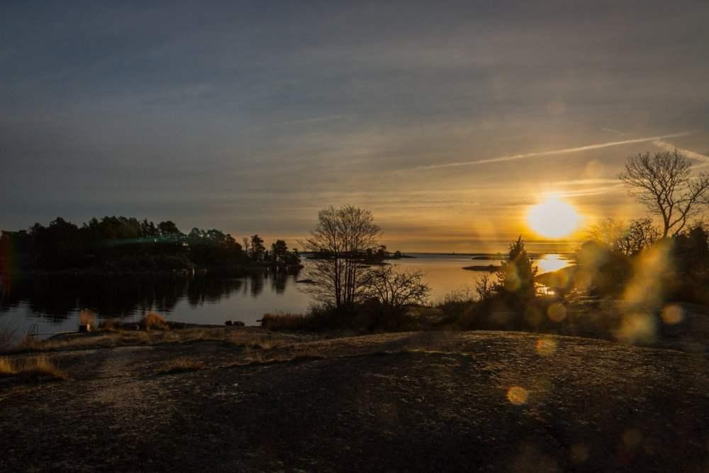 Soluppgång på Örö