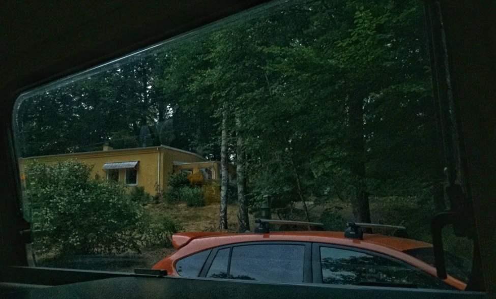 Nära till huset, perfekt om man glömt nåt :)