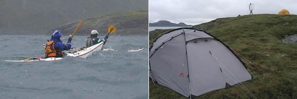 Medvind och regn | Läger på Vikingen