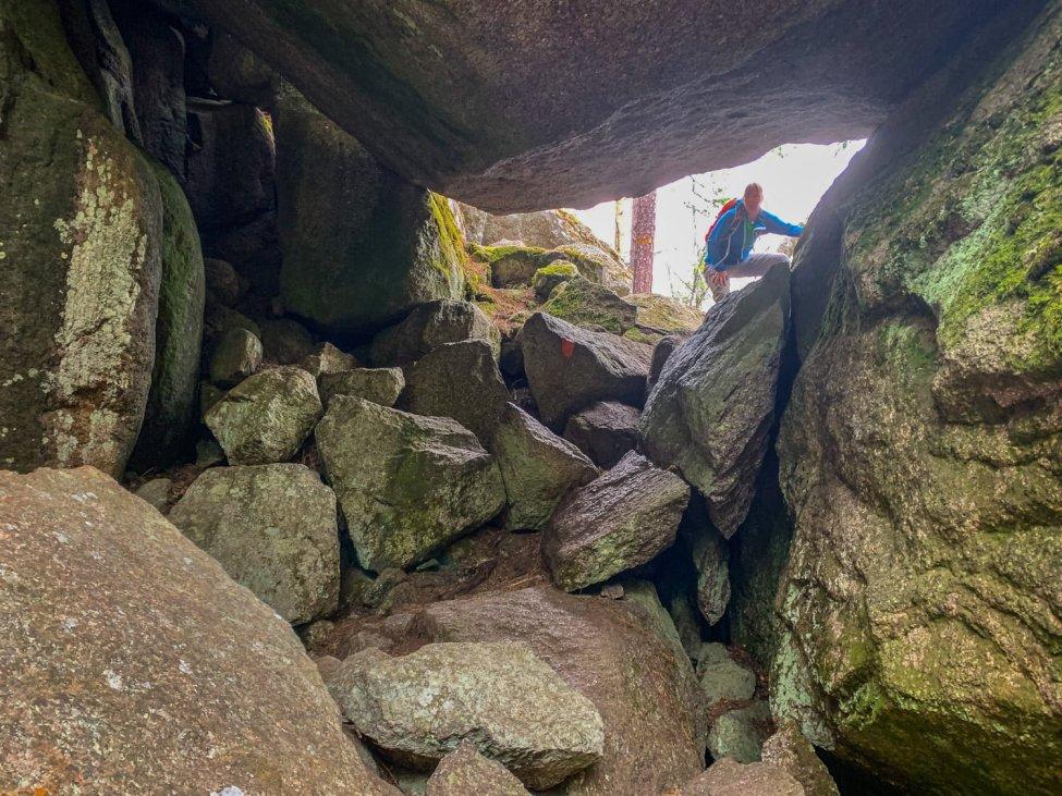 Stora stenar i Tiveden