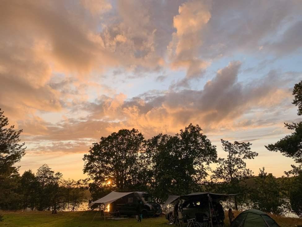 Solnedgångskväll