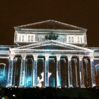 Moskau, Bolschoi-Theater. Oktober 2014
