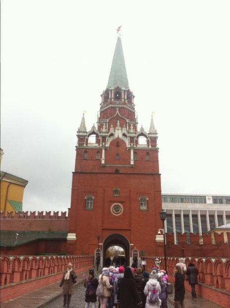 Moskau, Kreml. Oktober 2014