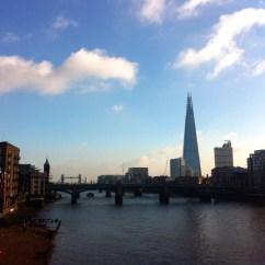 London, Milennium Bridge. November 2014