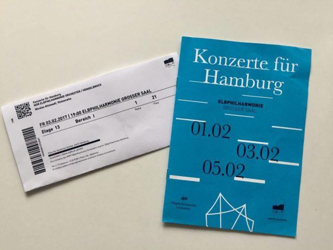 Elbphilharmonie Konzert für Hamburg kakakiri