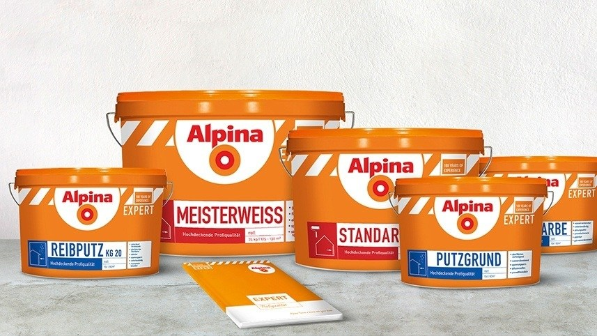 kakoii Berlin Werbeagentur Alpina Expert. Packaging.
