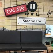 Das Studio der RTL 2 News
