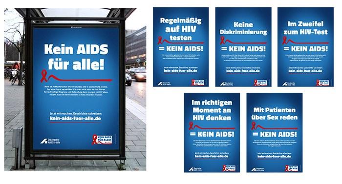 Aidshilfe Aids Kampagne