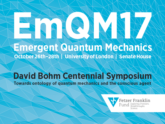 Emergent Quantum Mechanics 2017