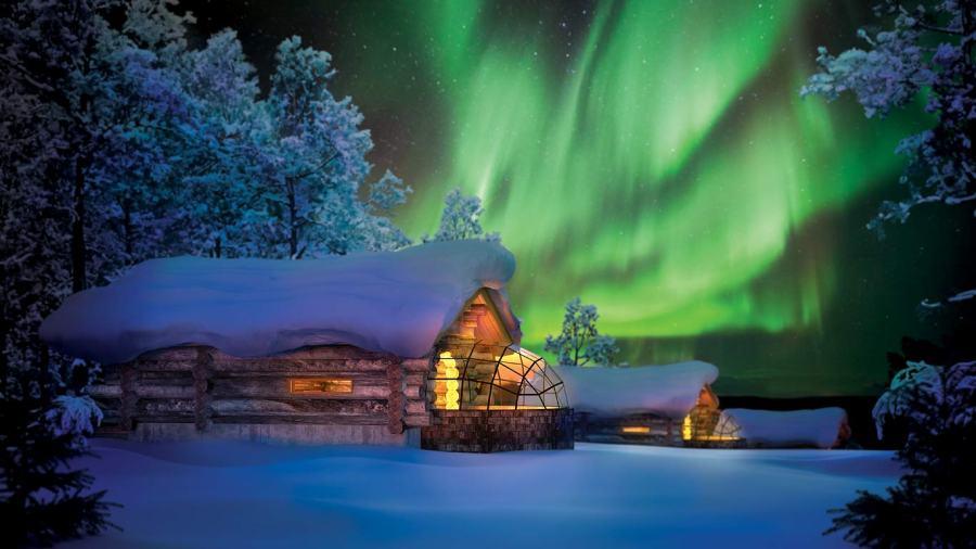 芬蘭飯店(玻璃極光屋) Kakslauttanen Arctic Resort 卡克斯勞特恩渡假村|芬蘭走走☆Travel in Finland