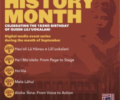 Celebrate Hawaiian History Month