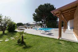 Kalabrien Villa Außenbereich