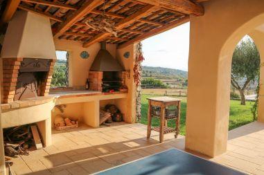 Außenküche Villetta Kalabrien