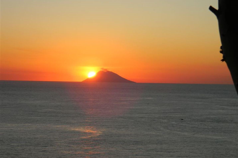 Sonnenuntergang Kalabrien Ferienhaus