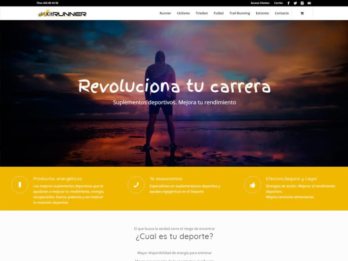 Página web Kitrunner