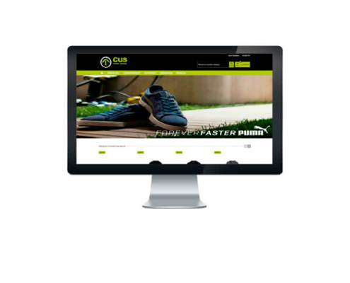 Tienda Online CUS Urban Site