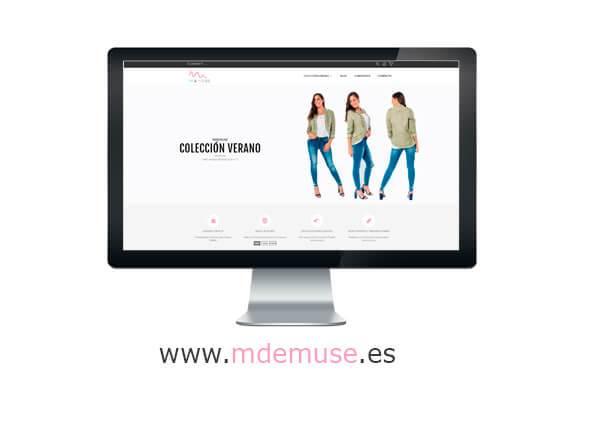 Tienda Online MdeMuse