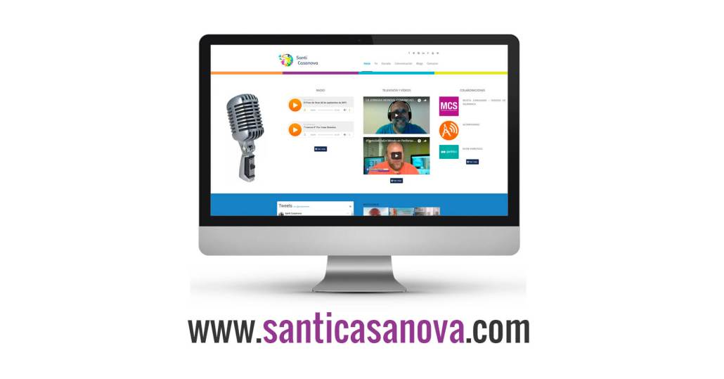Página web Santiago Casanova