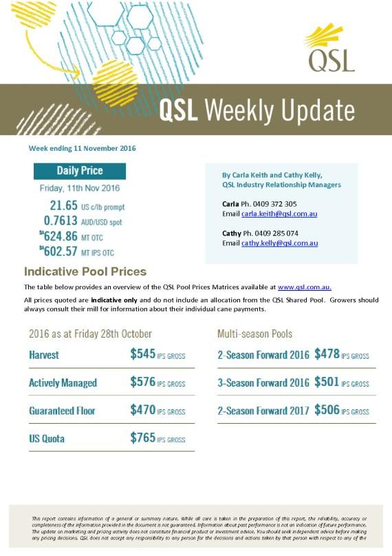 thumbnail of QSL Update Week Ending 11.11.16