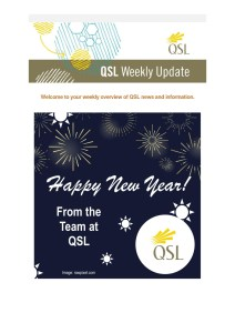 thumbnail of Welcome to your weekly overview of QSL news and information