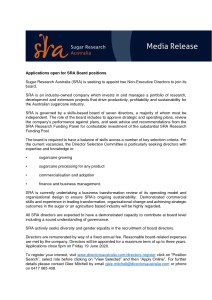 thumbnail of SRA Media Release – Applications open for SRA Board positions