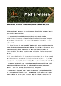 thumbnail of SRA Media Release
