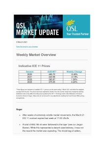 thumbnail of QSL Market Update – 3 March 2021