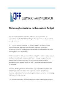 thumbnail of QFF – Media Release