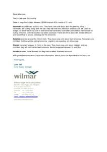 thumbnail of Wilmar – Update from John Tait
