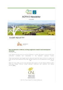thumbnail of ACFA ENewsetter – 16th July 2021