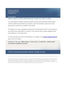 thumbnail of QCA – Report – 02 July 2021