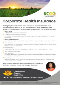 thumbnail of QCHF Corporate Kalamia Cane Growers Corporate Health Insurance Flyer