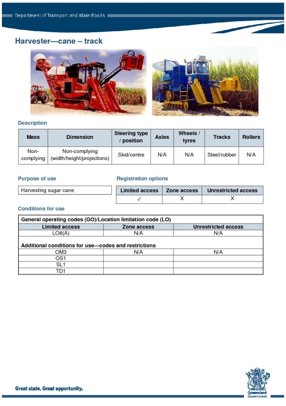 thumbnail of harvester-cane-track