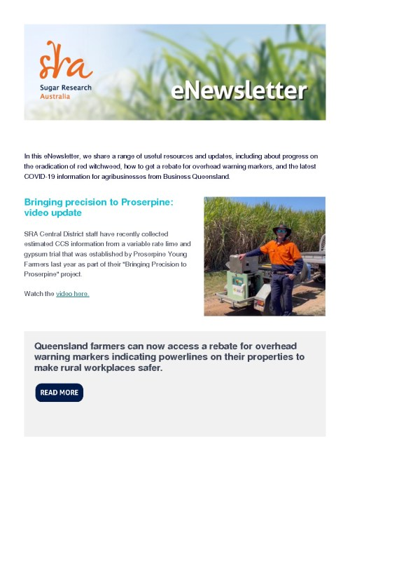 thumbnail of In this eNewsletter