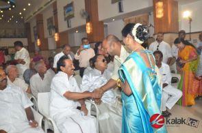 Actor Vasu Vikrams Daughter Sandhiya Wedding (6)