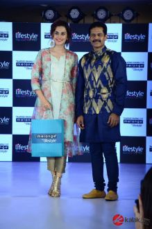 Taapsee Pannu as Brand Ambassador of Melange by Lifestyle (1)