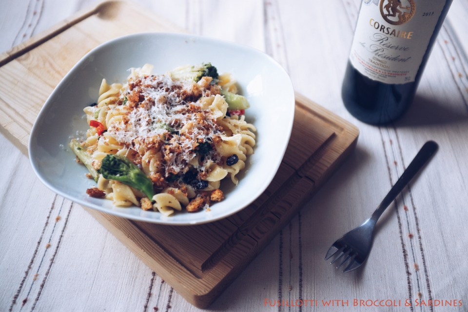 Fusillotti with Broccoli & Sardines